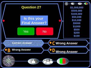 download powerpoint templates who wants to be a With who want to be a millionaire game template