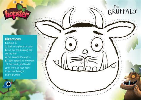 summer fun   gruffalo printables hopster
