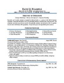 operations manager resume doc doc 550712 director of operations resume director resume exle 90 related docs