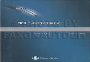 1997 Kia Sportage Repair Shop Manual 2 Volume Set Original