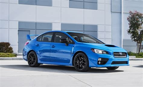 Limited 'hyperblue' 2016 Subaru Wrx Sti And Brz