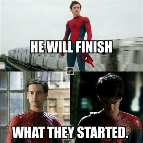 Make Spiderman Meme - 40 funniest tom holland memes that will make you laugh