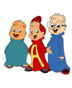 Alvin and the Chipmunks Cartoon Coloring Pages