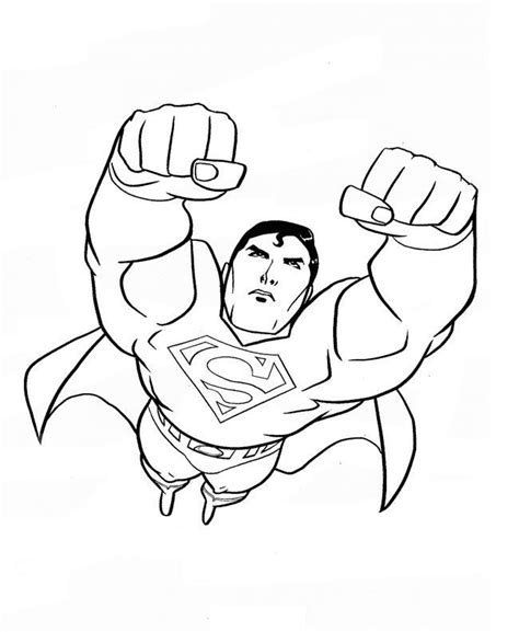 superman returns coloring pages coloring  kids dc