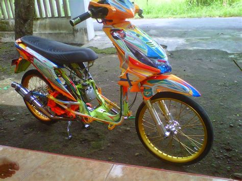 Modifikasi Motor Matic Beat by Koleksi Foto Modifikasi Motor Honda Beat Terbaru