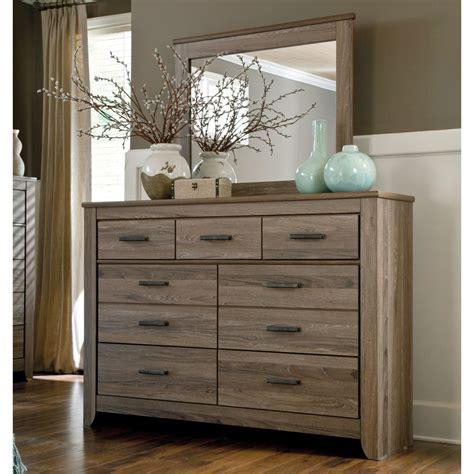 bedroom dresser set signature designs by zelen dresser and mirror set 10422 | 07d051359cccfc7911e41a935d3390a0