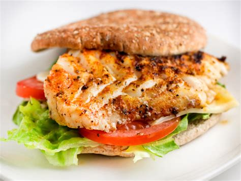 grouper sandwich fish recipes burger recipe grilled fresh herb fried food sandwiches cooked lunch tasty fine kitchen crusted tastykitchen healthier