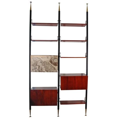 floor to ceiling tension pole room divider tension pole room divider and shelving unit from italy