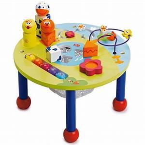Jeux Exterieur Enfant 2 Ans : cadeaux de no l les jouets pour les 0 2 ans 0 2 ans la table activit s de la fnac eveil ~ Dallasstarsshop.com Idées de Décoration