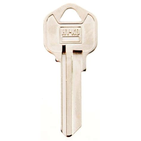 Hyko Blank Kwikset Lock Key11010kw1  The Home Depot