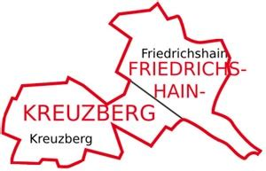 H M Kreuzberg by Friedrichshain Kreuzberg Berliner Bezirk