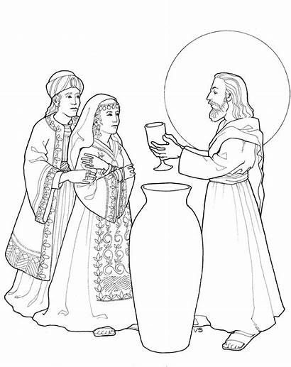Cana Coloring Pages Printable Getcolorings Inspiration Joyful