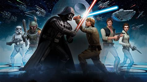 star wars galaxy  heroes fond decran hd arriere plan