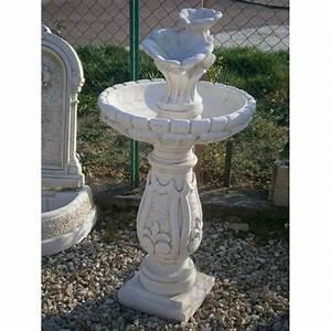 fontaine exterieur a oiseaux achat vente fontaine de With fontaine solaire exterieur jardin
