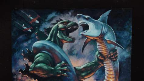 Godzilla Vs Sharkaconda