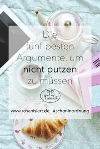 Motivation Zum Putzen : die f nf besten argumente um nicht putzen zu m ssen ~ A.2002-acura-tl-radio.info Haus und Dekorationen