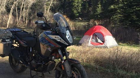 Ktm 1190 Adventure Motorcycle Camping