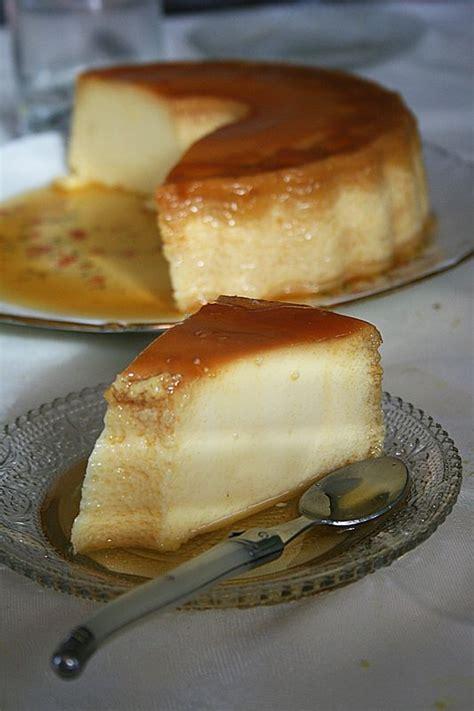 pudim flan aux œufs portugais dessert au thermomix