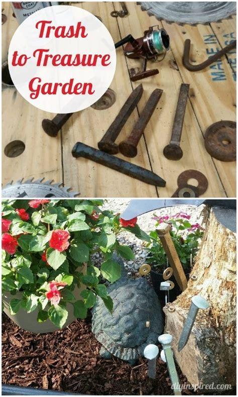 trash to treasure ideas trash to treasure garden decor diy inspired