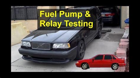 random stalling   start fuel pump  relay