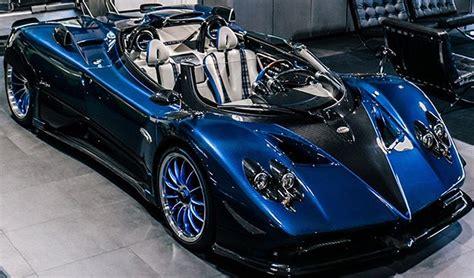 koenigsegg car blue pagani zonda barchetta arrives in miami