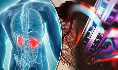 high blood pressure   causing hidden chronic kidney