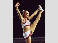 college cheerleader collegiate cheer moved from Kythoni's