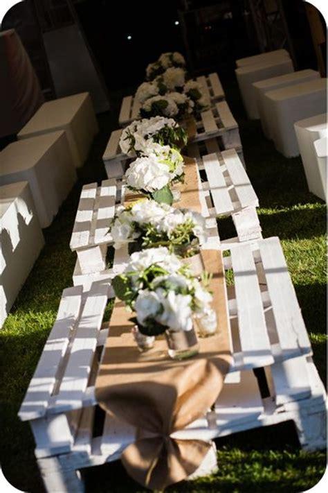 idees de table  mettre dehors pour lapero mariage