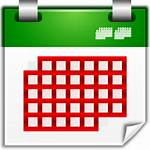Month Calendar Icon Icons Oxygen Svg Actions