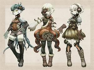 Cute steampunk girls via zerochan/Niji (Pixiv 355604 ...
