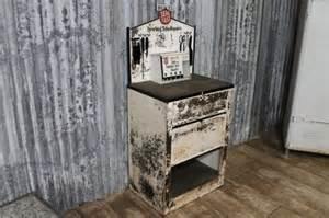 antiques atlas vintage garage cabinet retro work station
