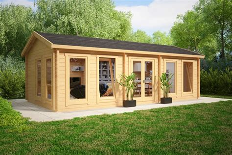 large storage buildings large garden room c 30m 70mm 4 x 8 m summer house 24
