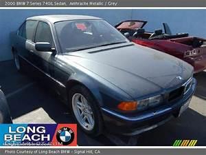 Anthracite Metallic - 2000 BMW 7 Series 740iL Sedan - Grey