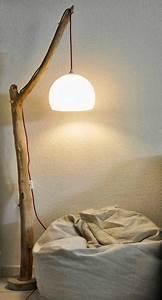 Luminaire En Bois Flotté : les 25 meilleures id es concernant lampe en bois flott sur pinterest lampe corde id es ~ Teatrodelosmanantiales.com Idées de Décoration