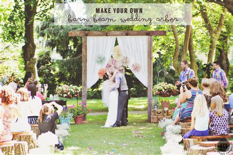 diy wedding tips on a budget vintage inspired backyard