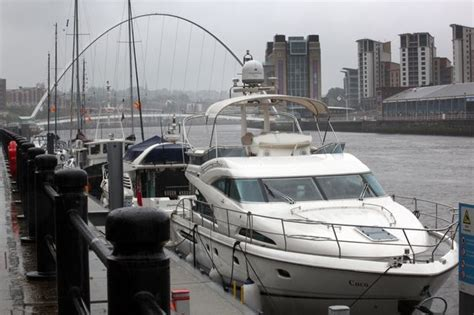 Boat Club Quayside by Newcastle S City Marina Forced To The Summer