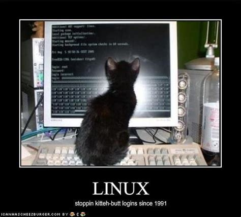 Linux Memes - 12 april 2009 countenance blog