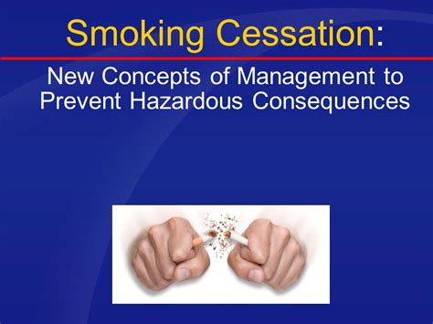 modern concept of management tools in the battle against and tobacco ppt