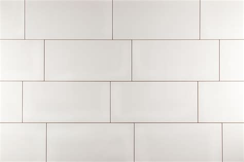 White Ceramic Tile by Kaska Wall Tile Rockefeller Series Glossy White