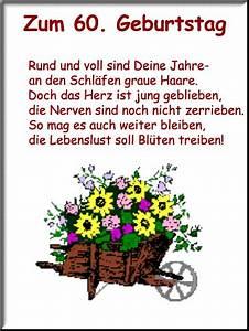 60 Geburtstag Frau Lustig : gedichte zum 50 geburtstag einer frau lustig ~ Frokenaadalensverden.com Haus und Dekorationen