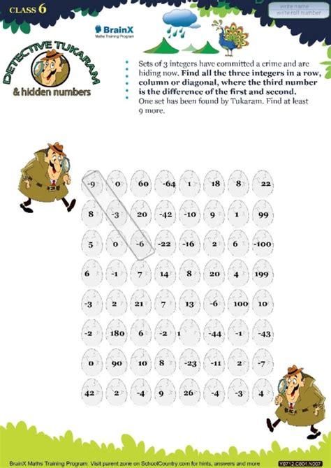 brainxgrademini math worksheets  grade
