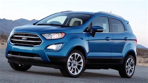 2017 Ford Ecosport  Interior Exterior And Drive Youtube