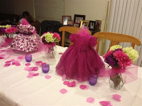 baby girl shower centerpieces baby girl shower centerpieces pinks and purples
