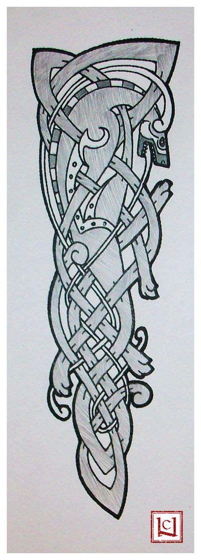 tatouage viking loup