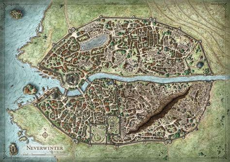 Mike Schleys Portfolio Fictional City Maps