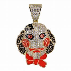 Costume Party Invite Wholesale Hip Hop Jewelry Mens Gold Chain Pendants Luxury