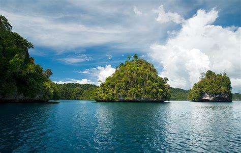 wayag raja ampats jewelled island seascape