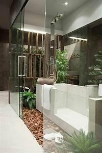 Plante Verte Salle De Bain : comment am nager une petite salle de bain ~ Melissatoandfro.com Idées de Décoration
