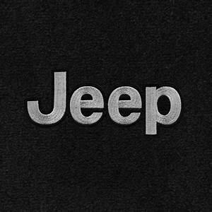 Jeep wrangler ultimat carpet 2pc front floor mat set for Jeep wrangler letters