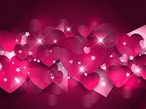 Pink hearts background - Download Free Vectors, Clipart ...
